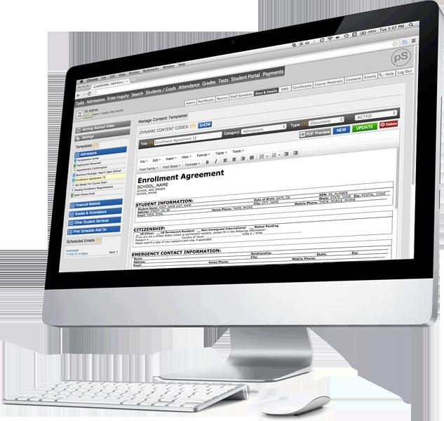 web based school management software polischool
